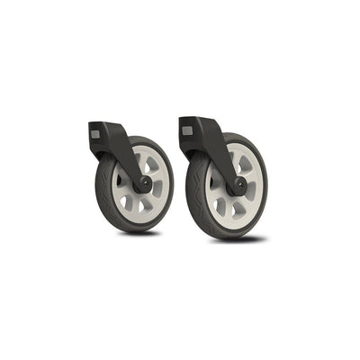 Joolz All Terrain Swivel Wheels Day2 + Day3 - Silver-Stroller Wheels-Silver- Natural Baby Shower