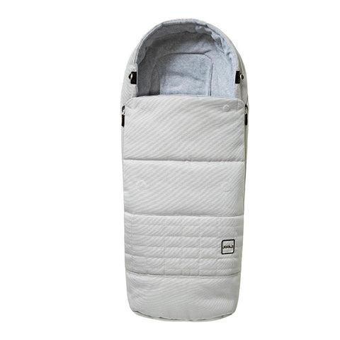 Joolz Day3 Quadro Footmuff - Grigio Nuovo-Footmuffs- Natural Baby Shower