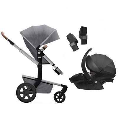 Joolz Day3 Travel System - Gorgeous Grey-Travel Systems- Natural Baby Shower