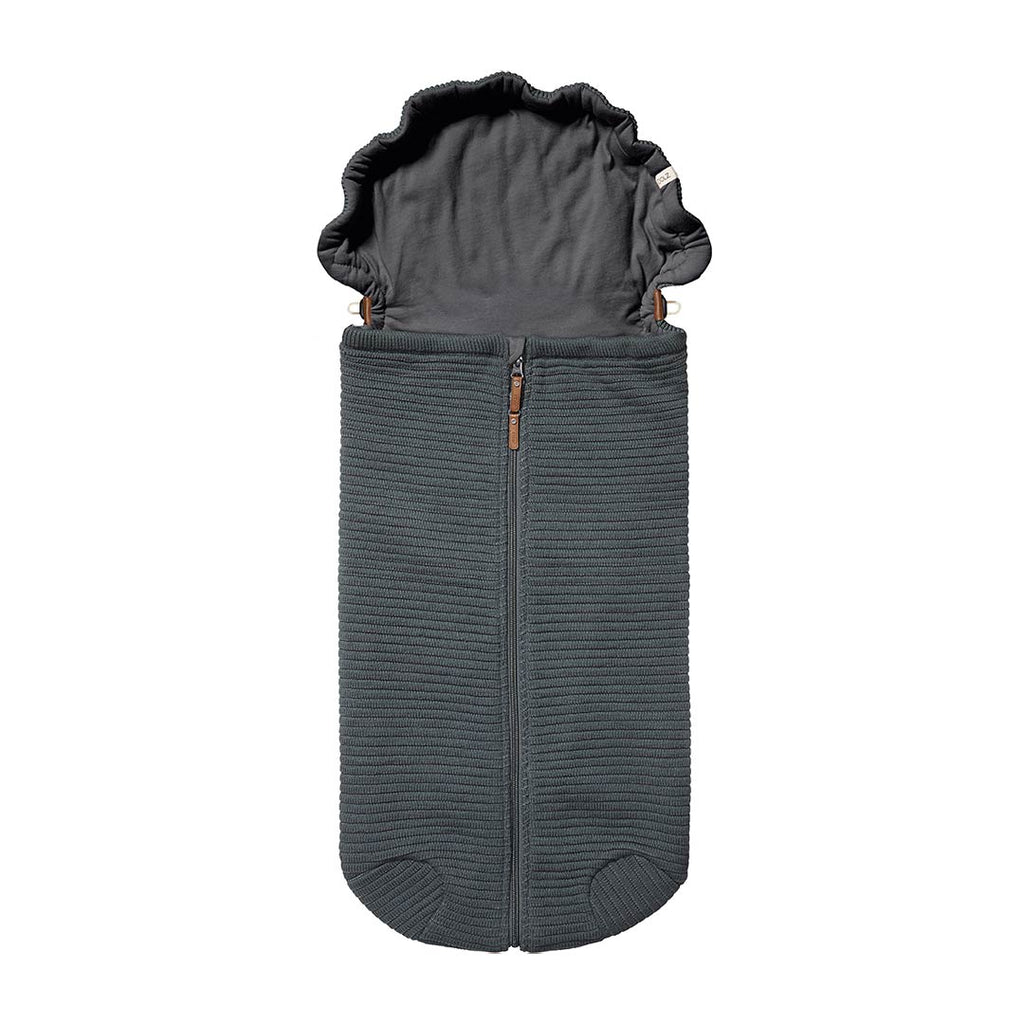 Joolz Essentials Ribbed Nest - Anthracite
