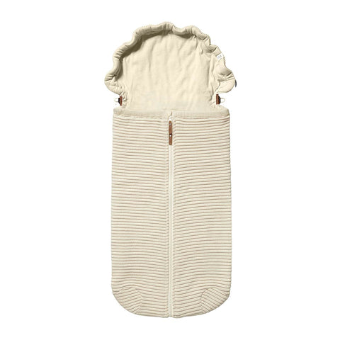 Joolz Essentials Ribbed Nest - Off White-Footmuffs- Natural Baby Shower