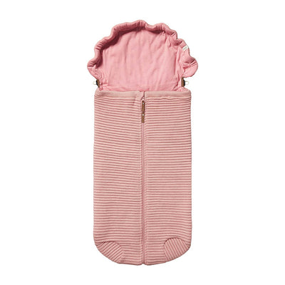 Joolz Essentials Ribbed Nest - Pink-Footmuffs- Natural Baby Shower