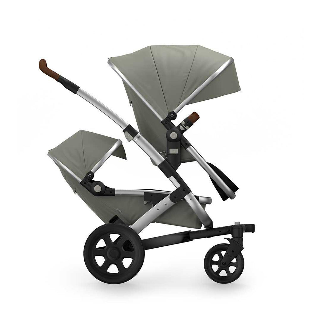 Joolz Geo2 Earth Duo Stroller - Elephant Grey-Strollers- Natural Baby Shower