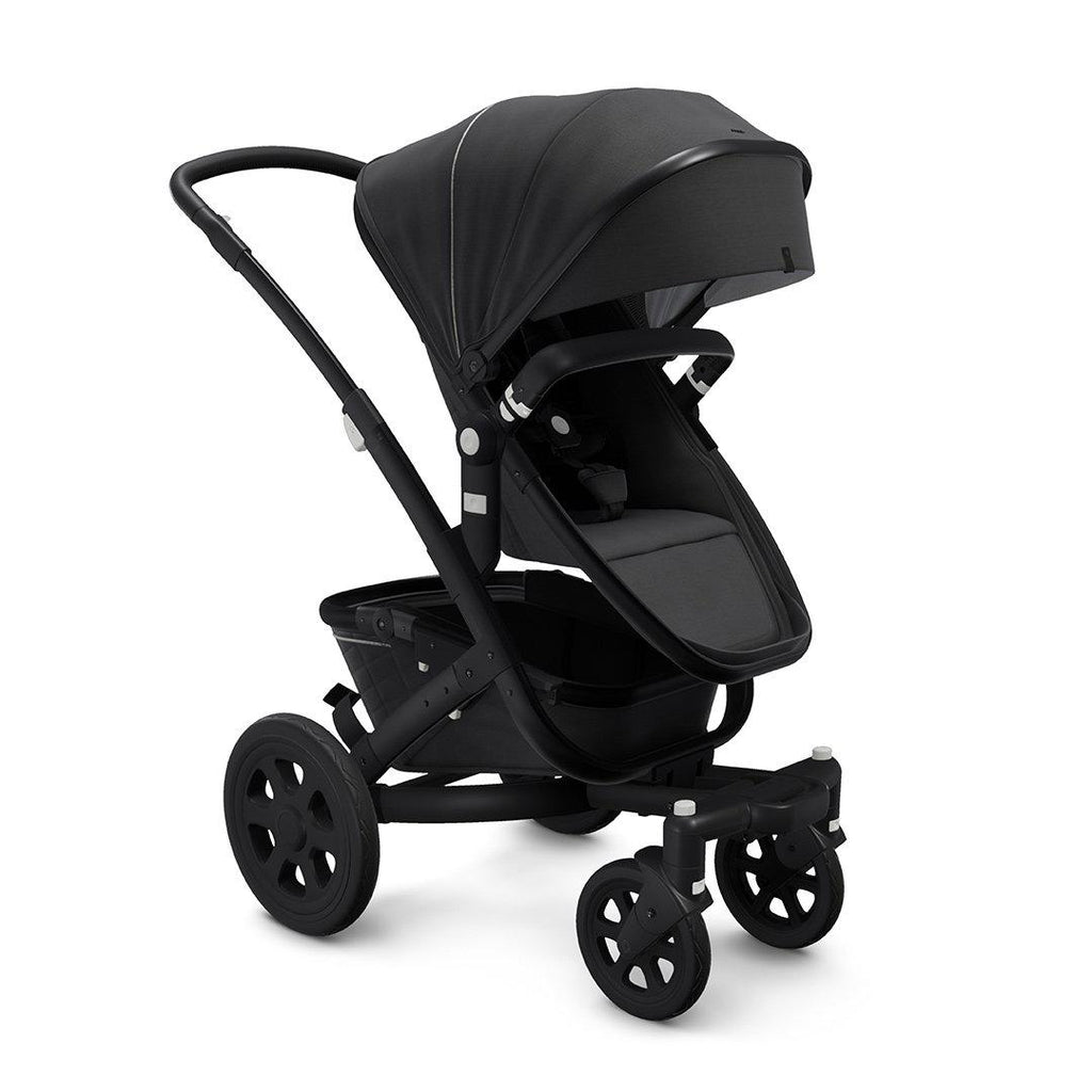 Joolz Geo2 Mono Pushchair - Brilliant Black-Strollers-Brilliant Black- Natural Baby Shower