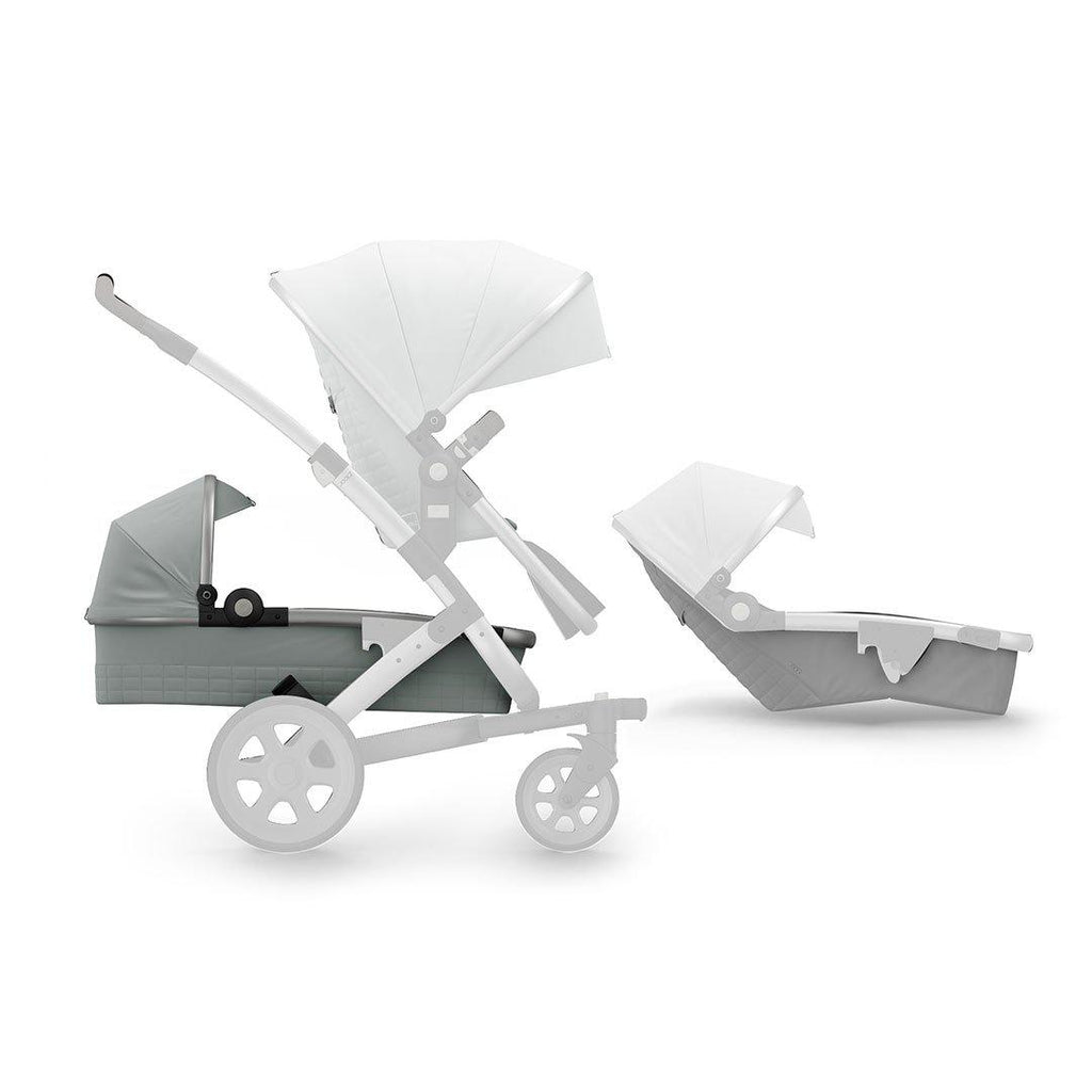 Joolz Geo2 Quadro Expandable Kit - Grigio-Stroller Seats- Natural Baby Shower