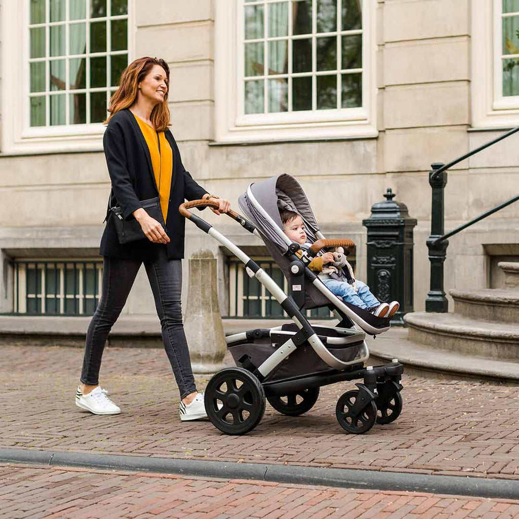 Joolz Geo2 Quadro Mono Stroller - Grigio-Strollers- Natural Baby Shower