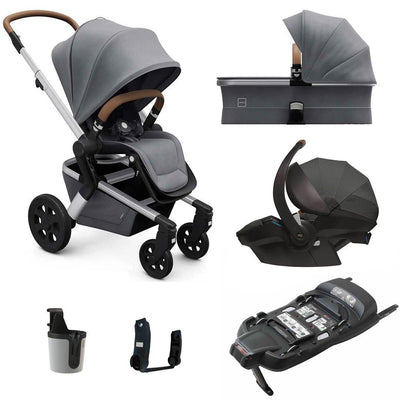 Joolz Hub Bundle - Gorgeous Grey-Travel Systems- Natural Baby Shower
