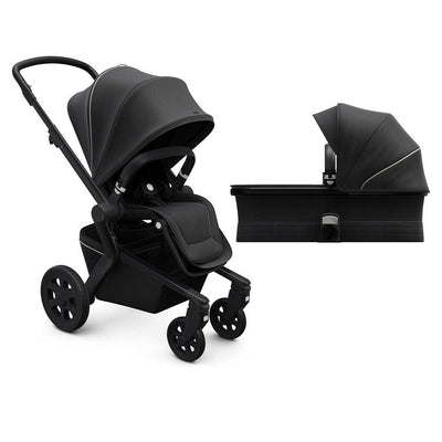 Joolz Hub Pushchair + Cot - Brilliant Black-Strollers- Natural Baby Shower