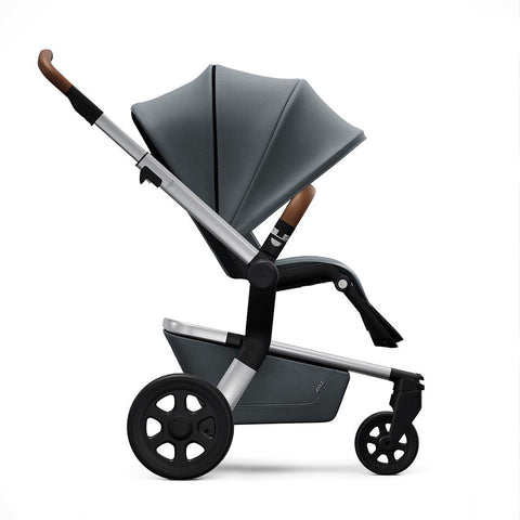 Joolz Hub Earth Pushchair - Hippo Grey-Strollers- Natural Baby Shower