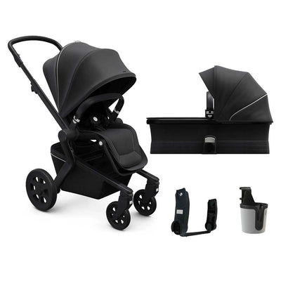 Joolz Hub Pushchair + Carrycot - Brilliant Black-Strollers- Natural Baby Shower