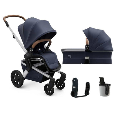 Joolz Hub Pushchair + Carrycot - Classic Blue-Strollers- Natural Baby Shower