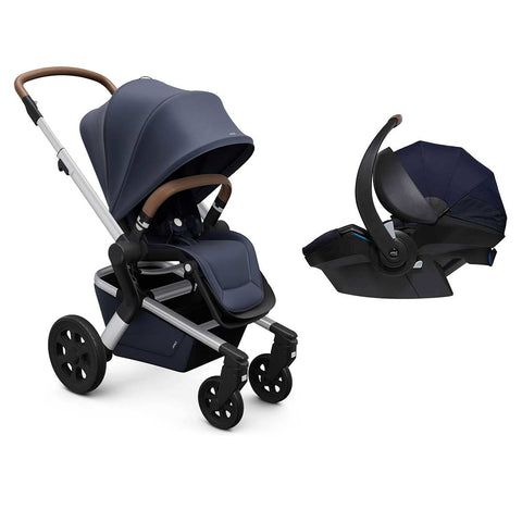 Joolz Hub Travel System - Classic Blue-Travel Systems-None-Joolz BeSafe- Natural Baby Shower