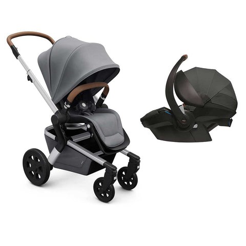 Joolz Hub Travel System - Gorgeous Grey-Travel Systems-None-Joolz BeSafe- Natural Baby Shower