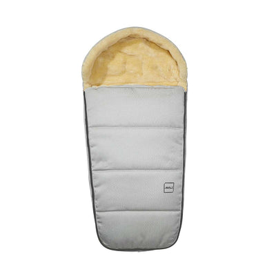 Joolz Uni2 Polar Footmuff - Silver-Footmuffs-Silver- Natural Baby Shower