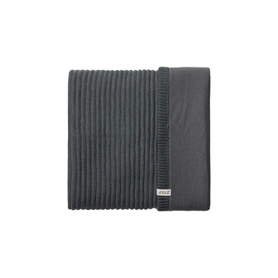 Joolz Essentials Ribbed Blanket - Anthracite-Blankets-Anthracite- Natural Baby Shower