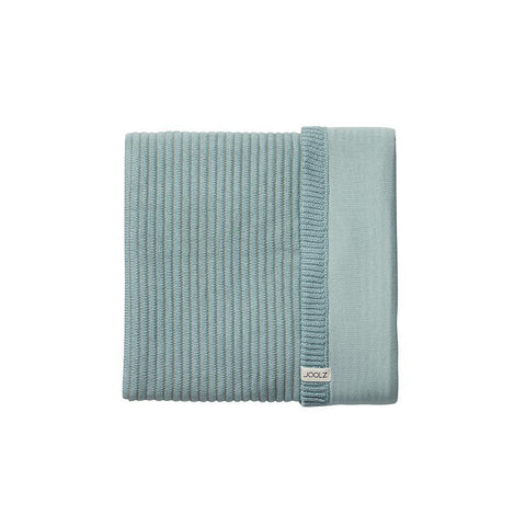 Joolz Essentials Ribbed Blanket - Mint-Blankets-Mint- Natural Baby Shower
