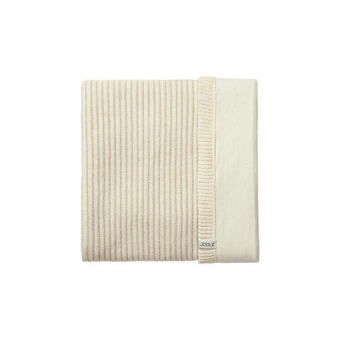 Joolz Essentials Ribbed Blanket - Off White-Blankets-Off White- Natural Baby Shower