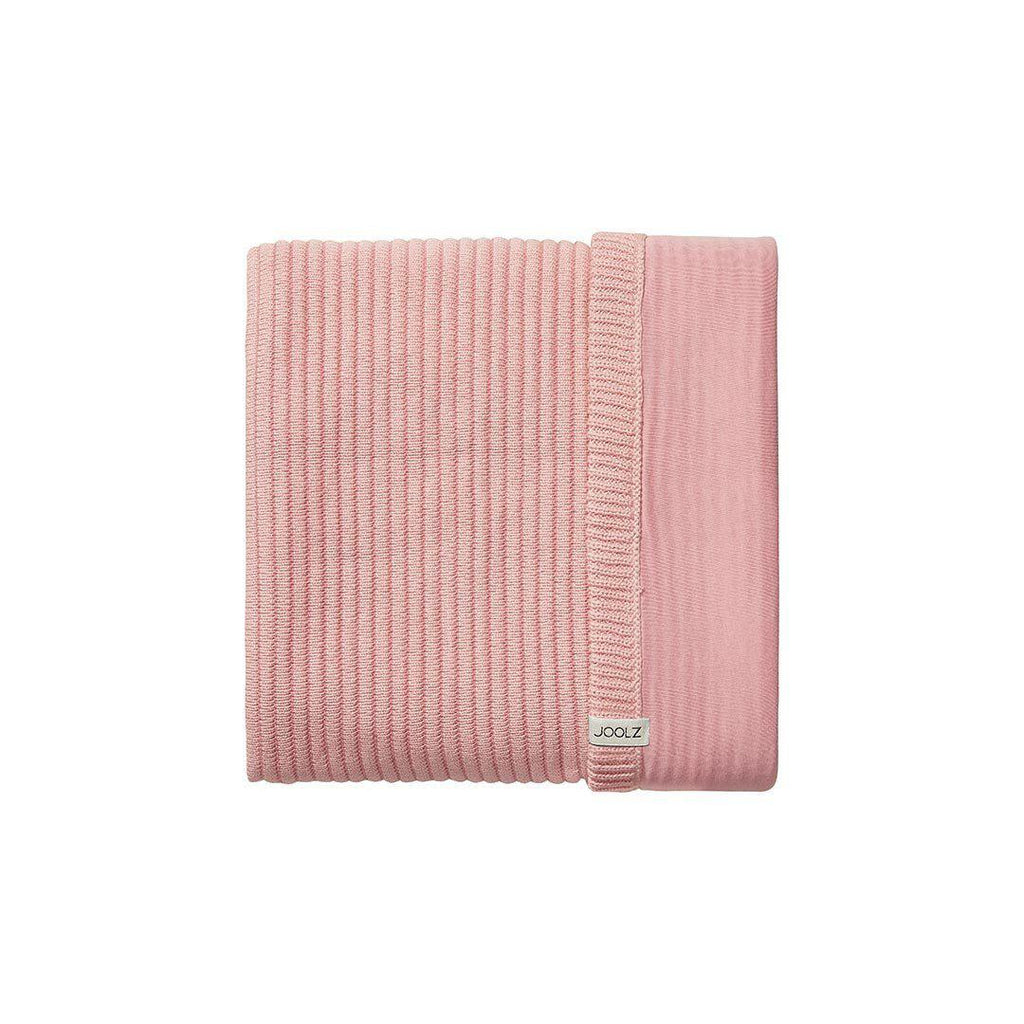 Joolz Essentials Ribbed Blanket - Pink-Blankets-Pink- Natural Baby Shower