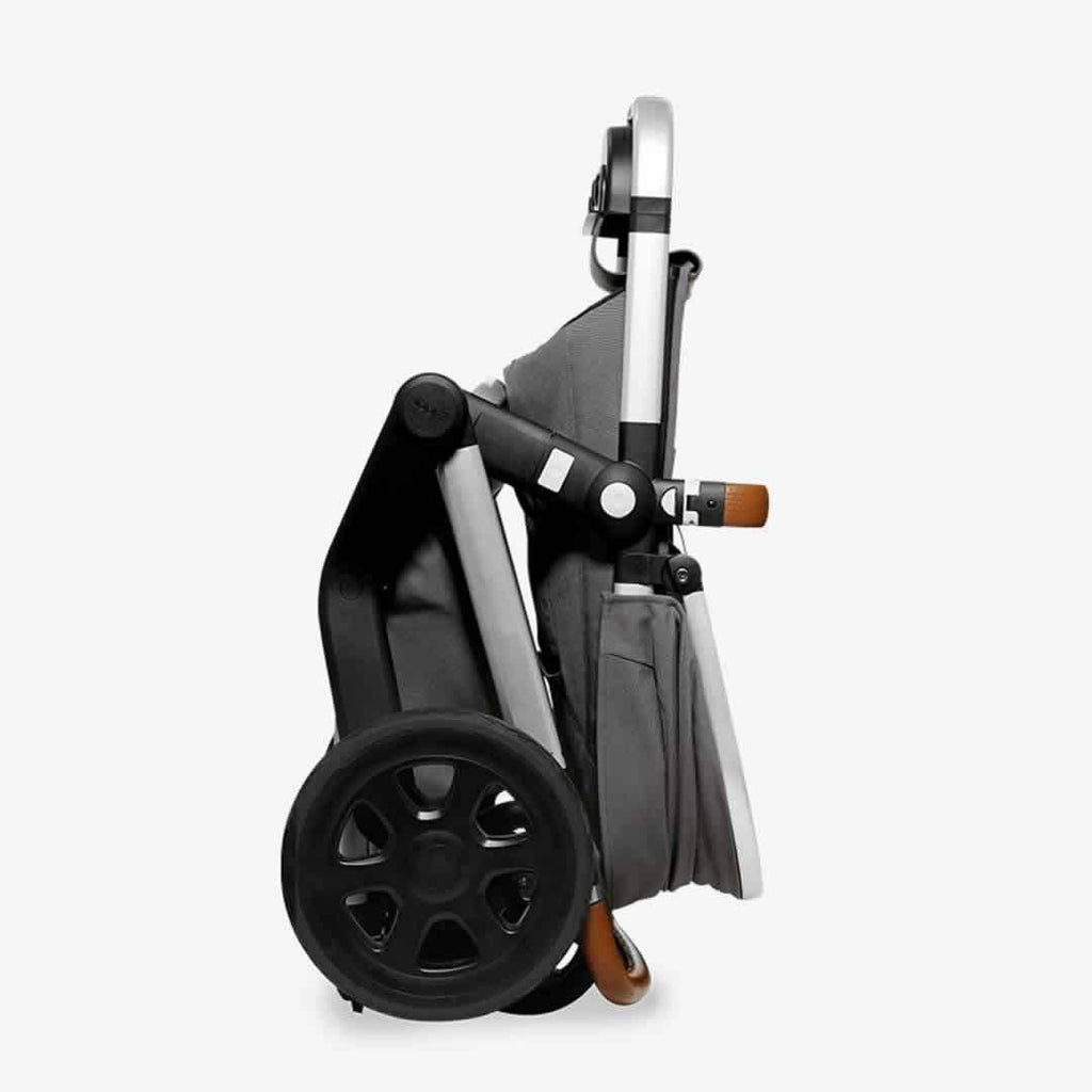 Joolz 2 Day Earth Stroller - Parrot Blue Folded