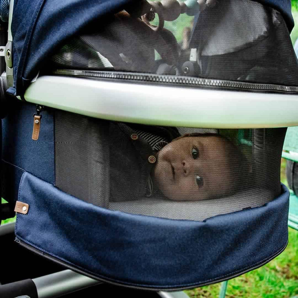 Joolz 2 Day Earth Stroller - Hippo Grey Ventilation
