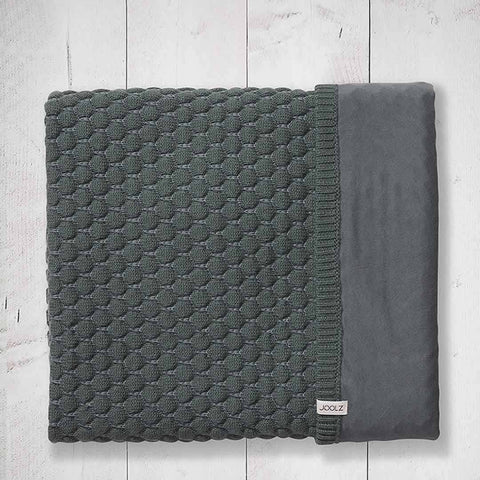 Joolz Essentials Blanket - Anthracite-Blankets- Natural Baby Shower