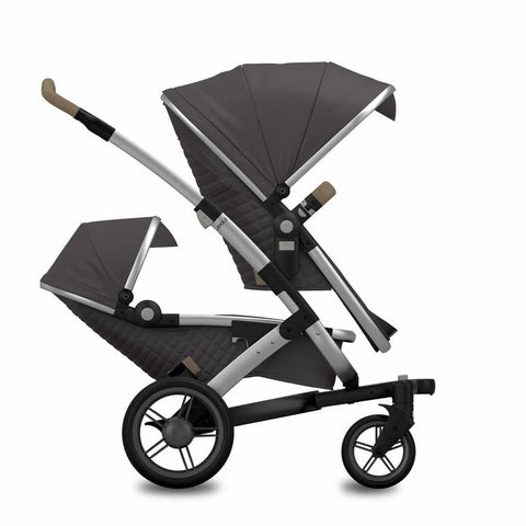 Joolz Geo Quadro Duo Stroller - Carbon - Strollers - Natural Baby Shower