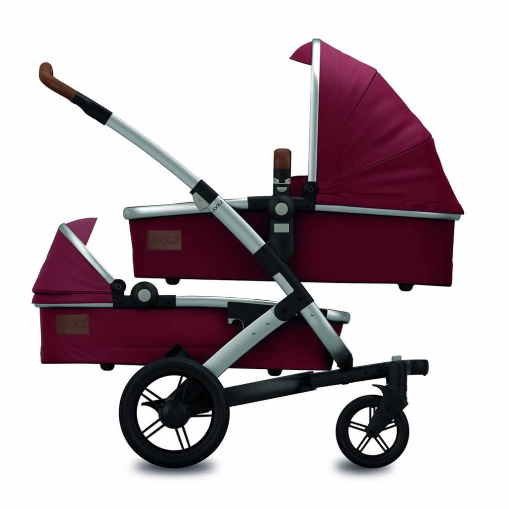 Joolz Geo Twin Stroller Earth in Lobster Red