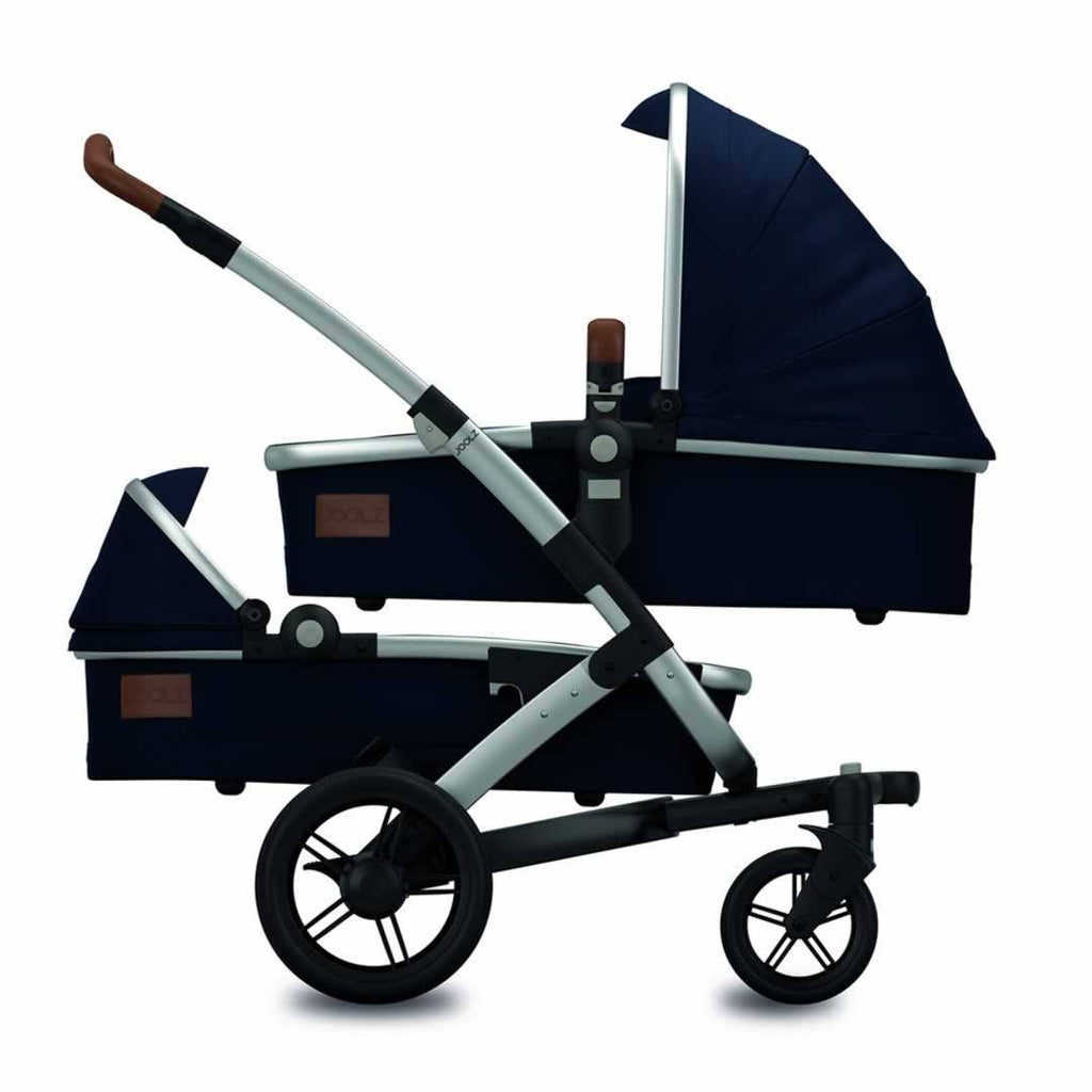 Joolz Geo Twin Stroller Earth in Parrot Blue