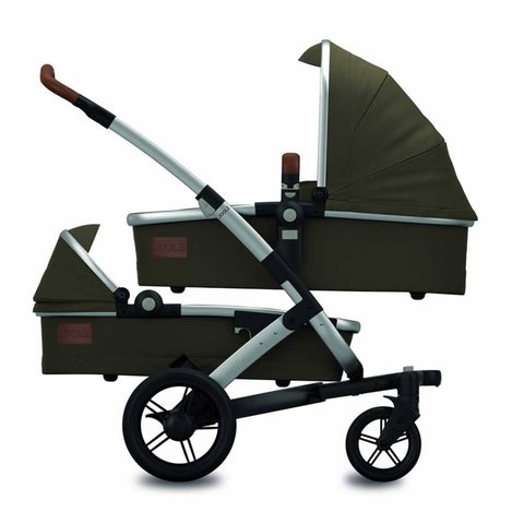 Joolz Geo Twin Stroller Earth in Turtle Green