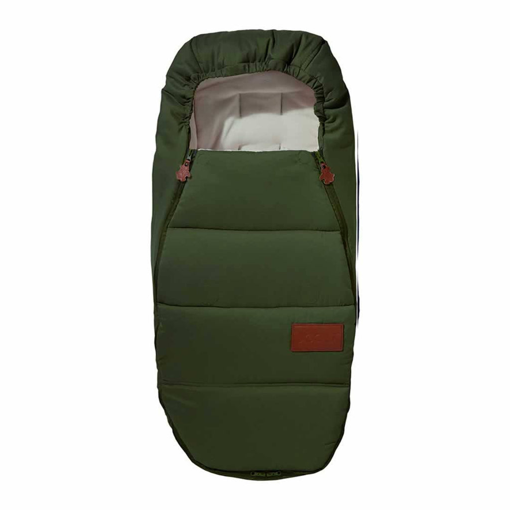 Joolz Geo Earth Footmuff in Turtle Green