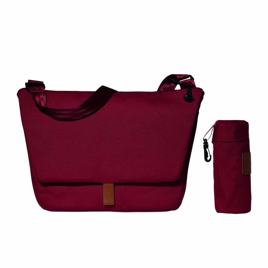 Joolz Geo Earth Nursery Bag in Lobster Red