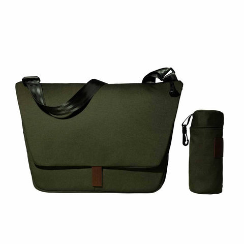 Joolz Geo Earth Nursery Bag in Turtle Green