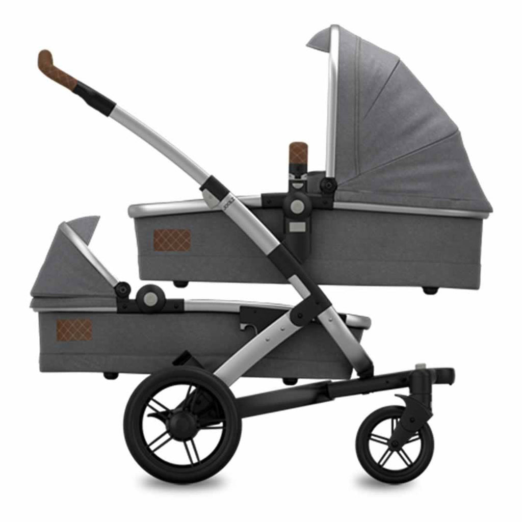 Joolz Geo Studio Twin Stroller in Gris