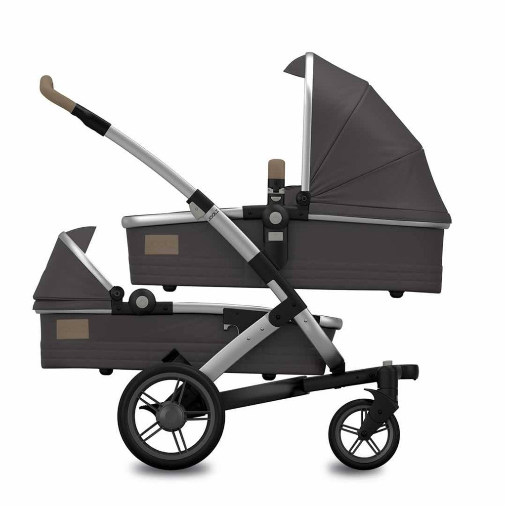 Joolz Geo Quadro Twin Stroller - Carbon - Strollers - Natural Baby Shower