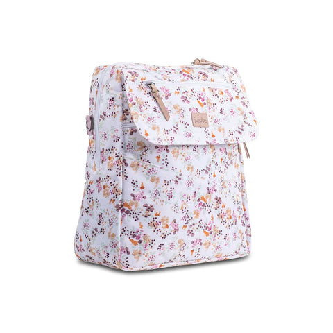 Ju-Ju-Be 4-in-1 Convertible Changing Bag Bundle - Petal Perfection-Changing Bags- Natural Baby Shower