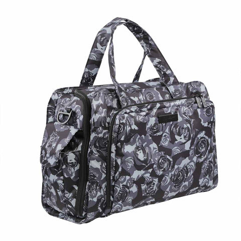 Ju-Ju-Be Be Prepared Changing Bag - Black Petals-Changing Bags- Natural Baby Shower