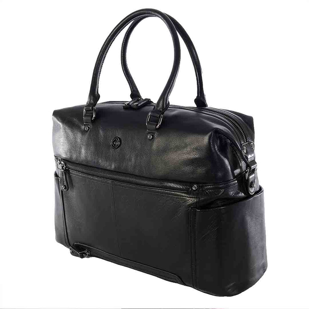 KeriKit Thea Weekender Changing Bag - Black 1