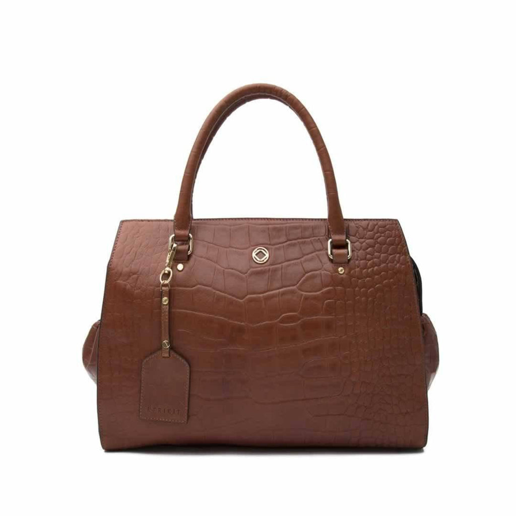 KeriKit Ivy Changing Bag in Cognac