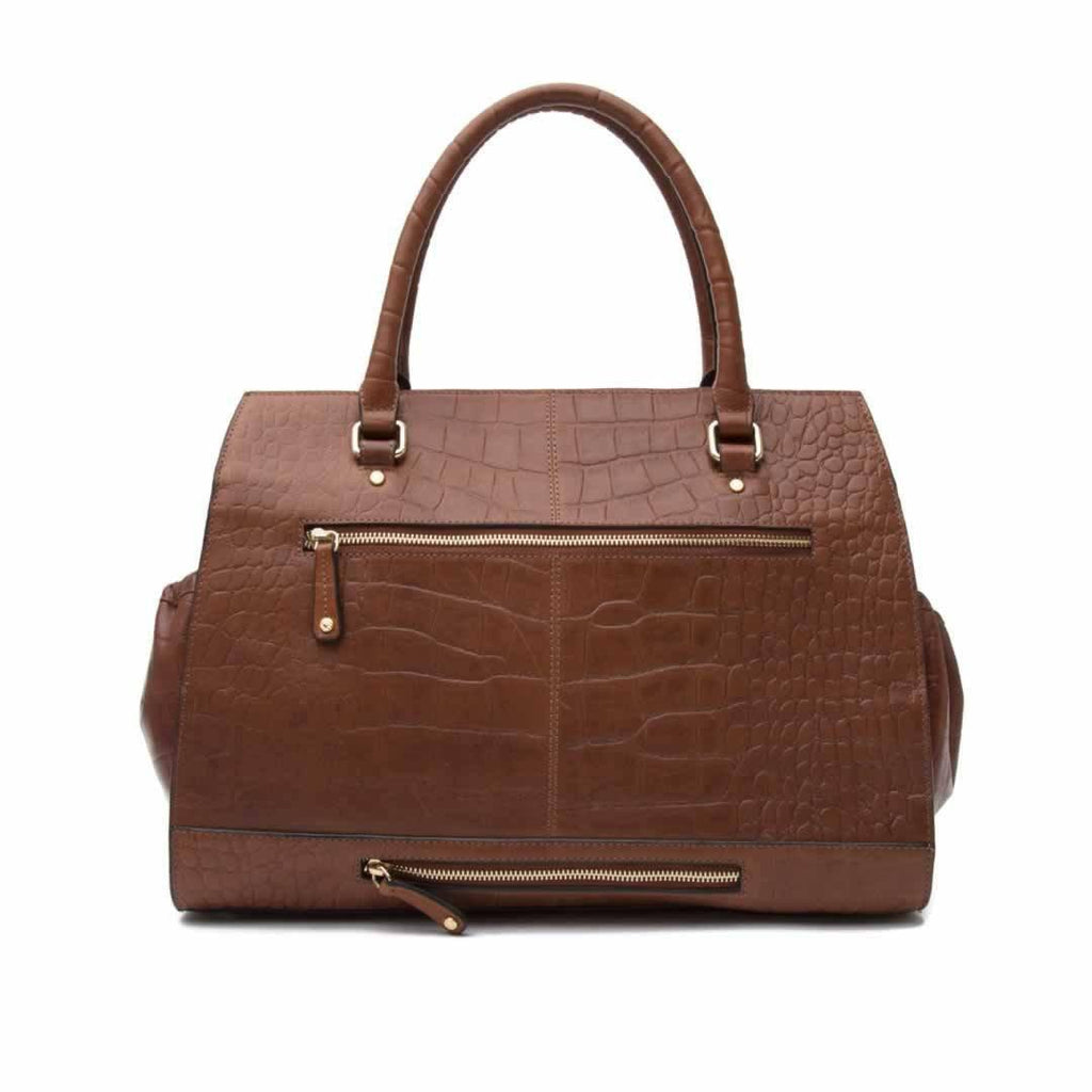 KeriKit Ivy Changing Bag - Cognac Back