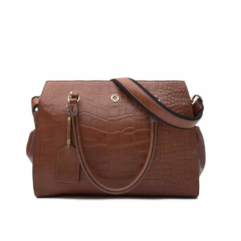 KeriKit Ivy Changing Bag Cognac
