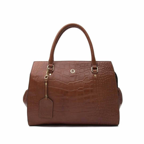 KeriKit Ivy Leather Changing Bag - Cognac - Changing Bags - Natural Baby Shower