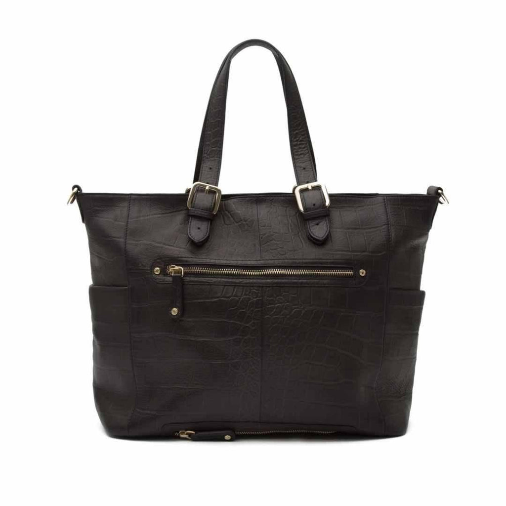 KeriKit Francis Leather Changing Bag - Black - Changing Bags - Natural Baby Shower