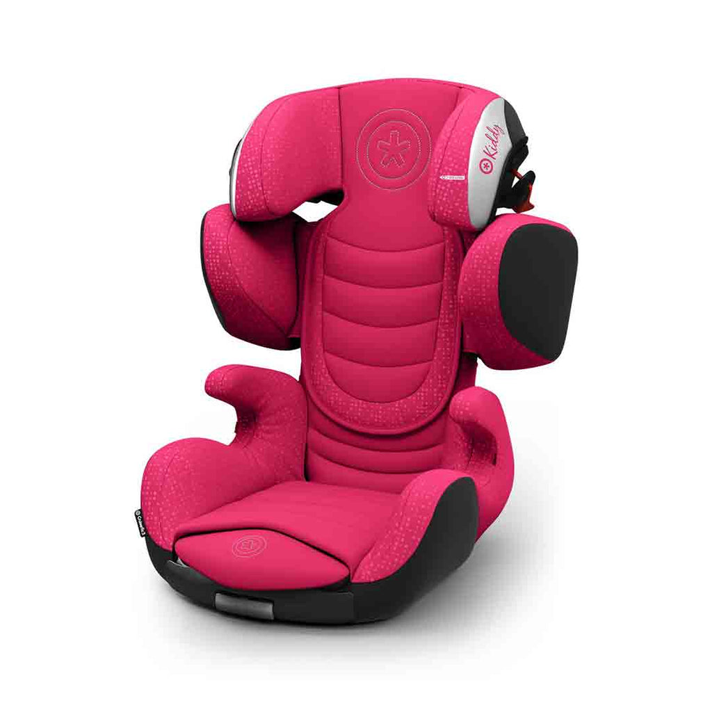 Kiddy Cruiserfix 3 Car Seat - Berry Pink-Car Seats- Natural Baby Shower