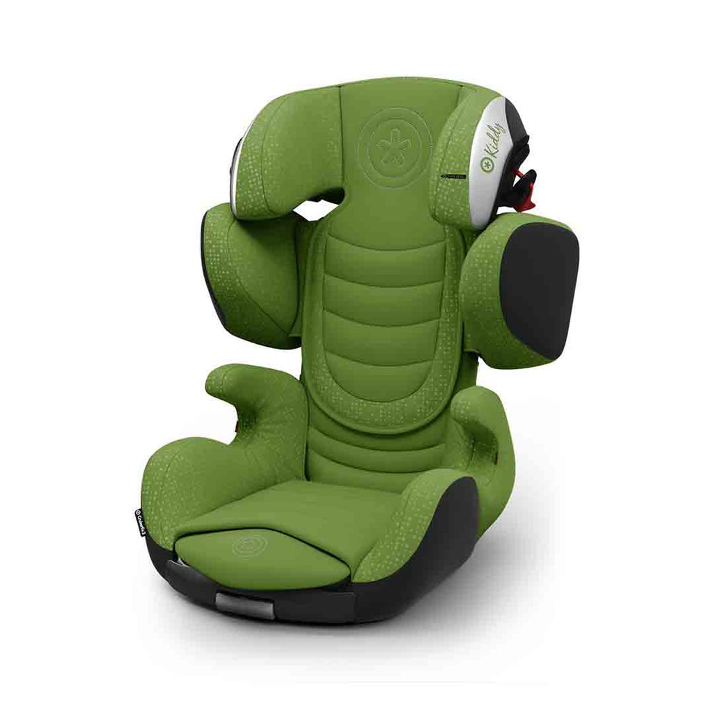 Kiddy Cruiserfix 3 Car Seat - Cactus Green-Car Seats- Natural Baby Shower