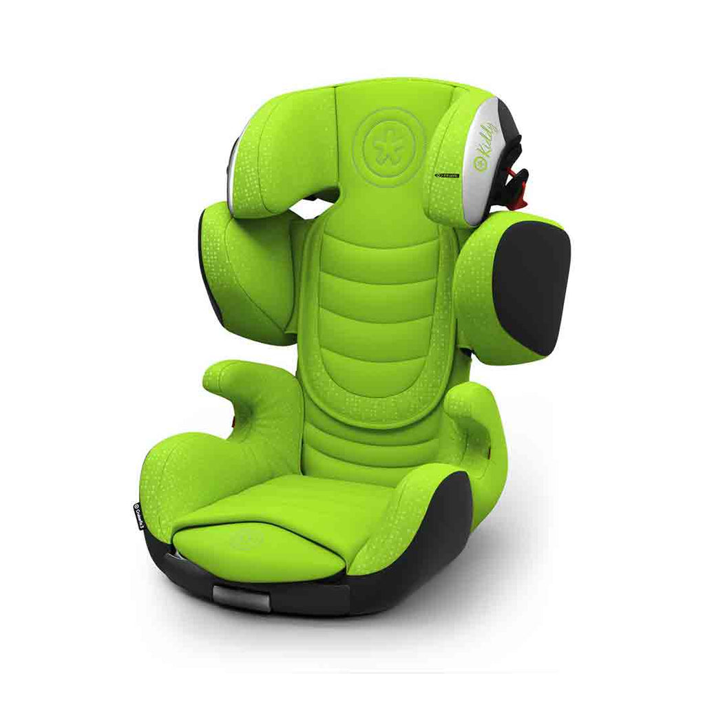 Kiddy Cruiserfix 3 Car Seat - Spring Green