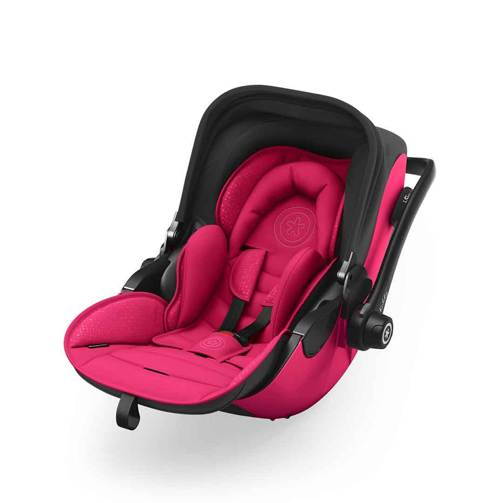 Kiddy Evoluna i-Size 2 Car Seat + Base - Berry Pink