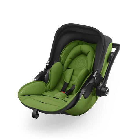 Kiddy Evoluna i-Size 2 Car Seat + Base - Cactus Green-Car Seats- Natural Baby Shower