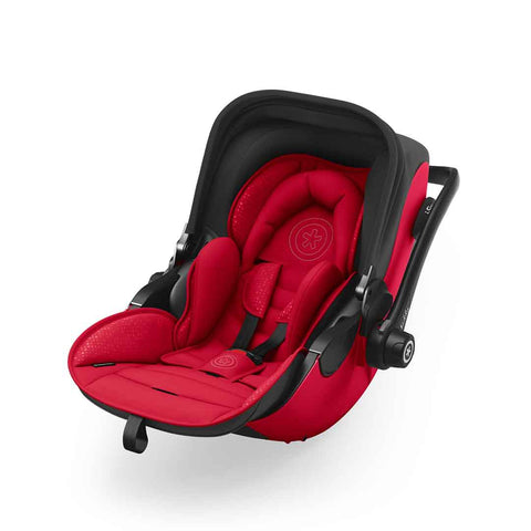 Kiddy Evoluna i-Size 2 Car Seat + Base - Chilli Red-Car Seats- Natural Baby Shower
