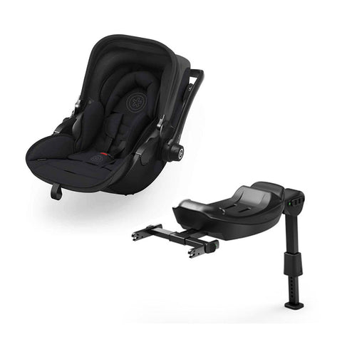Kiddy Evoluna i-Size 2 Car Seat + Base - Mystic Black-Car Seats- Natural Baby Shower