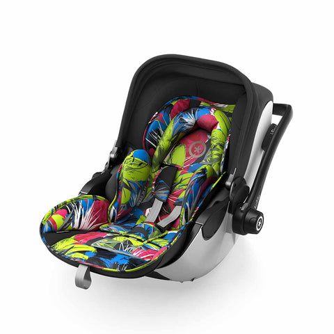 Kiddy Evoluna i-Size 2 Car Seat + Base - Street Jungle-Car Seats- Natural Baby Shower